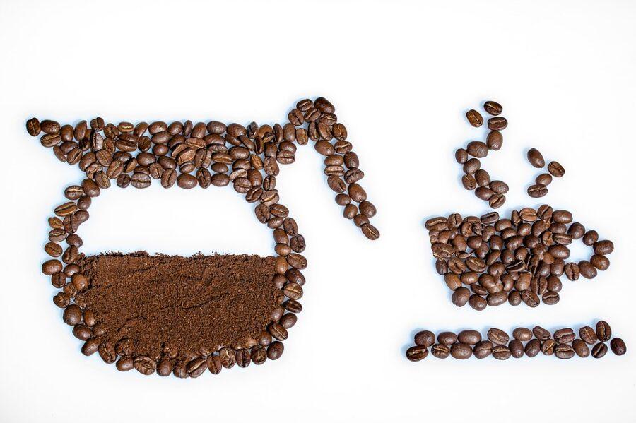 Miele e caffè, maschera viso