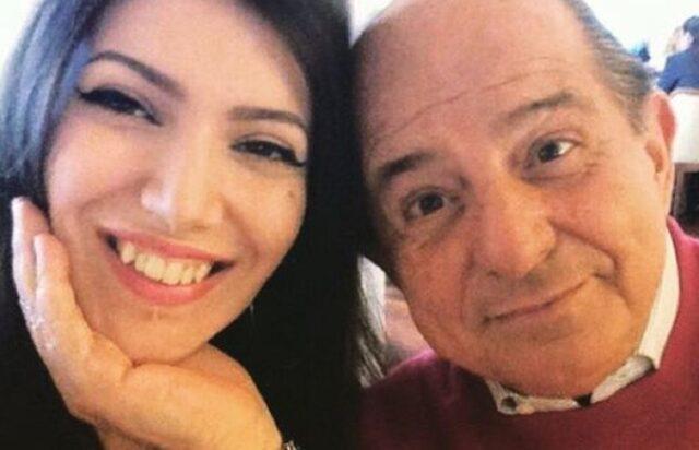 Michela Magalli e il padre