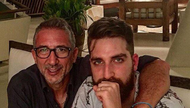Lucio Presta e il figlio