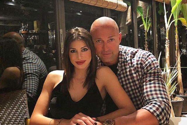 Nicoletta Larini e il fidanzato