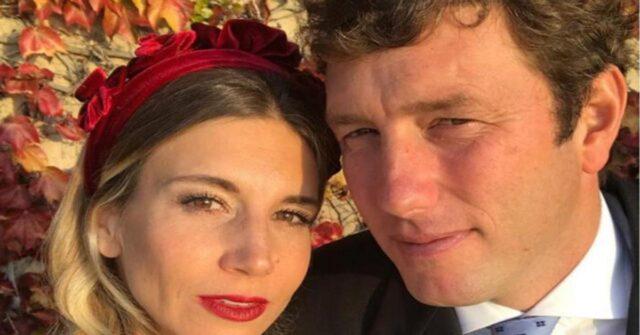 Nicoletta Romanoff e Federico Alverà foto di coppia
