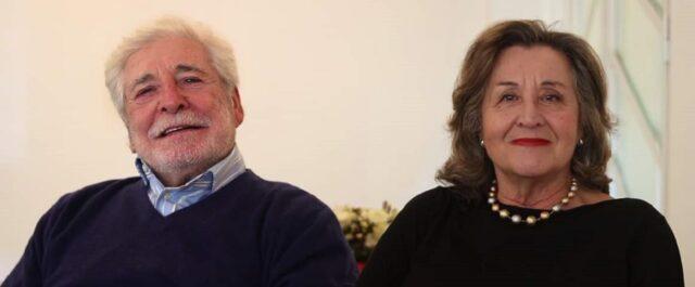 Paola Gassman e il marito