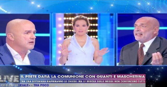 Live non è la D'Urso Paolo Brosio Attacca Barbara D'Urso