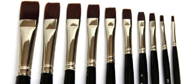 Tipologia di pennelli