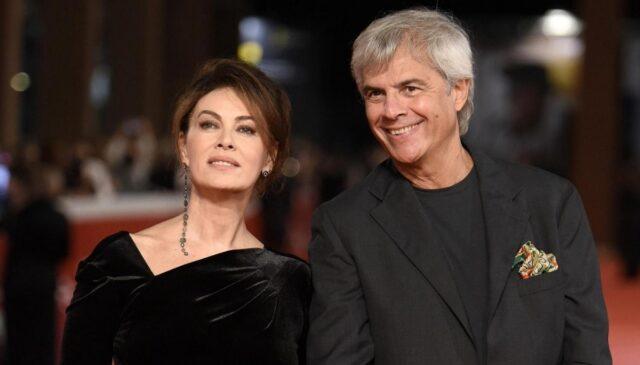 Stefano Mainetti e la moglie