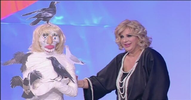 La mummia di Tina Cipollari