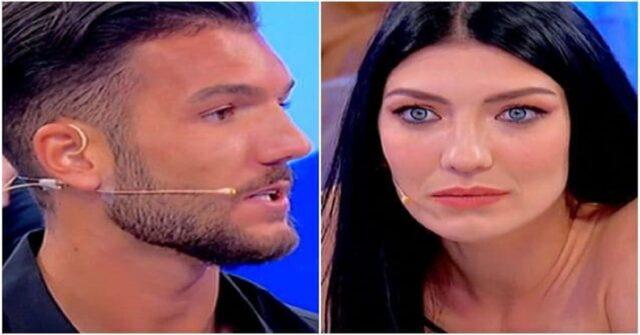 Uomini e Donne Davide Basolo litiga con Giovanna Abate