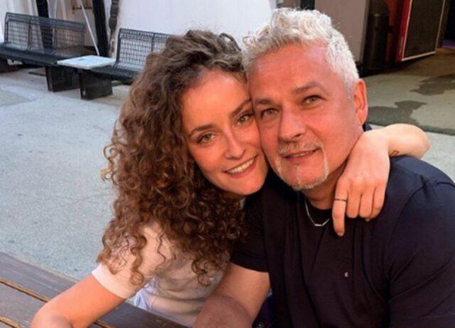 Roberto Baggio e la figlia