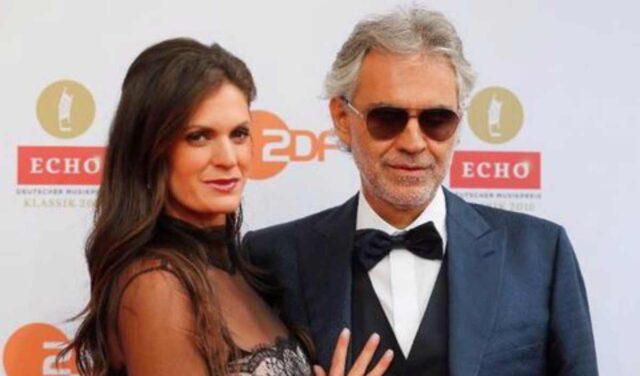 Veronica Berti e il marito