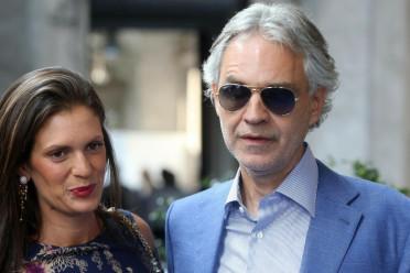 Andrea Bocelli e sua moglie veronica berti