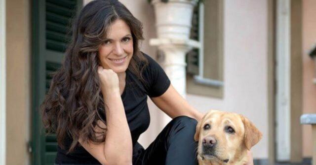 Veronica Berti con cane