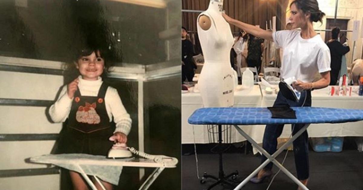 Victoria Beckham da piccola