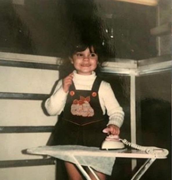 Victoria Beckham bambina