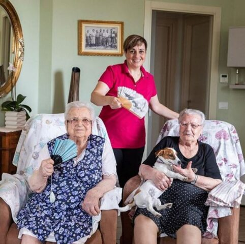 nonna e zia di benedetta rossi