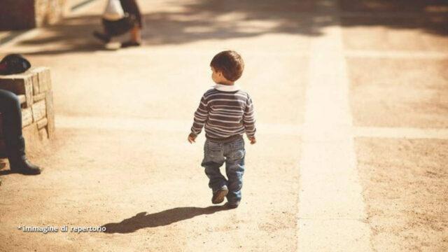 Auronzo bimbo scappa di casa