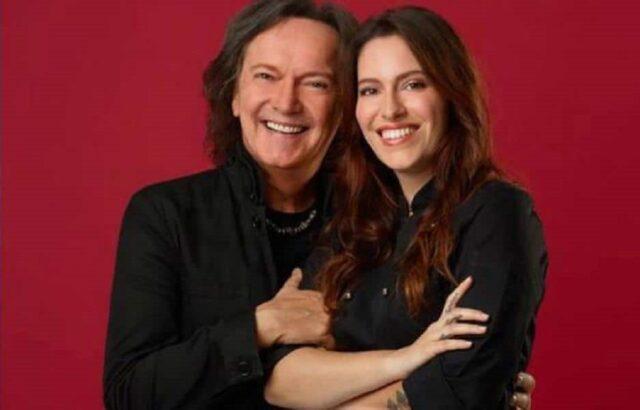 Chiara Canzian e il padre