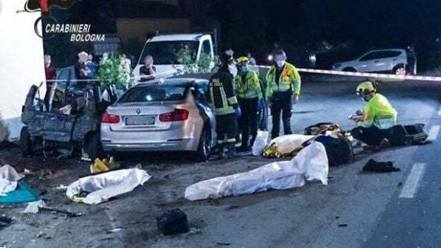 Incidente Bologna 4 vittime anche una bimba
