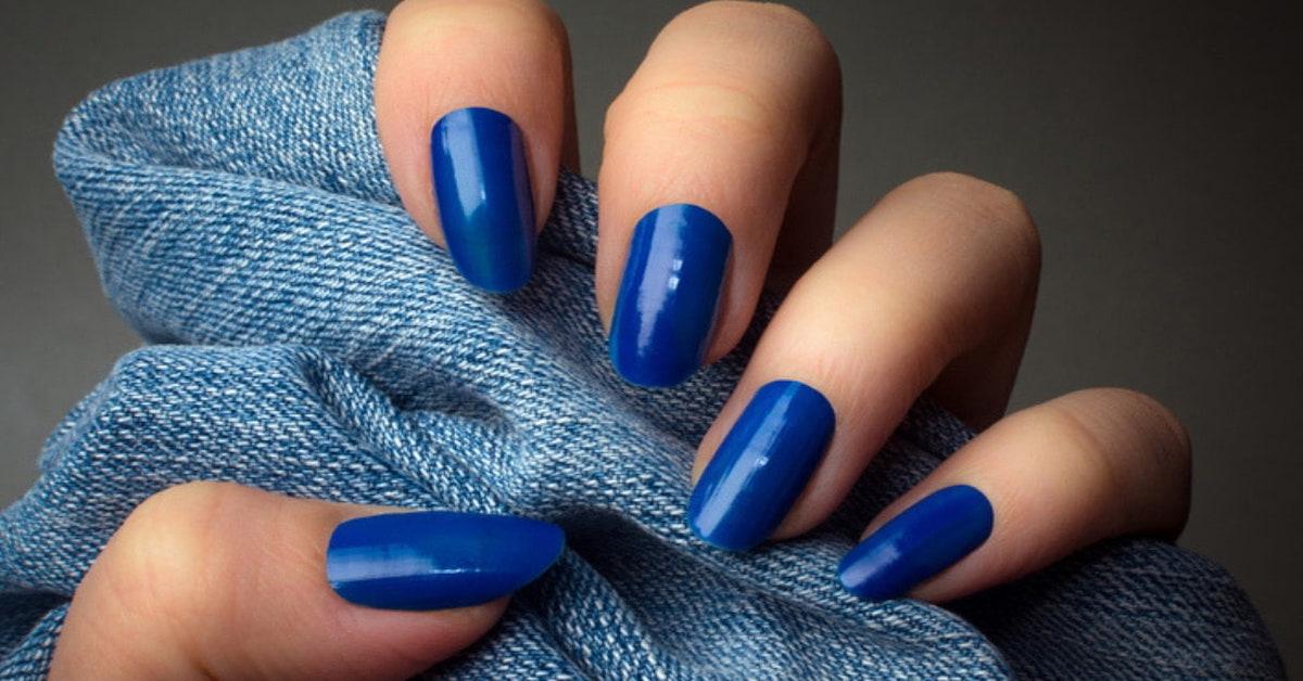 unghie blu
