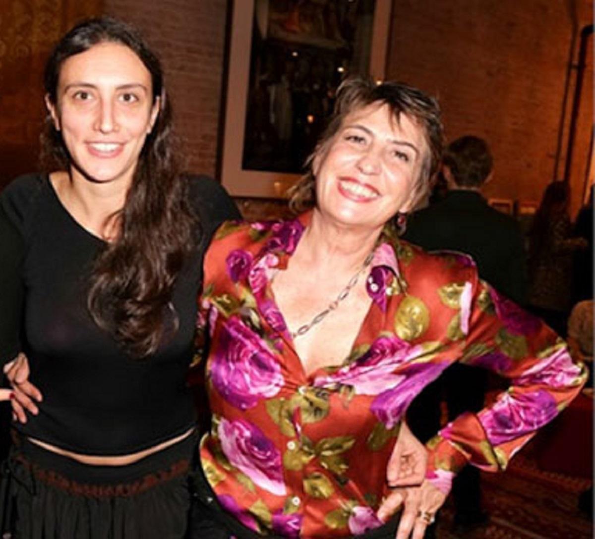 Adele Tulli e la madre