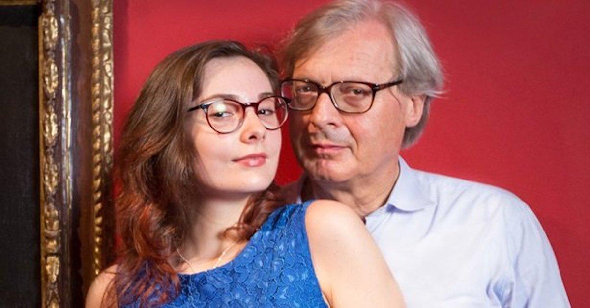 Vittorio sgarbi e figlia alba