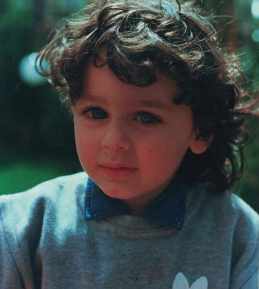 Alberto Urso bambino