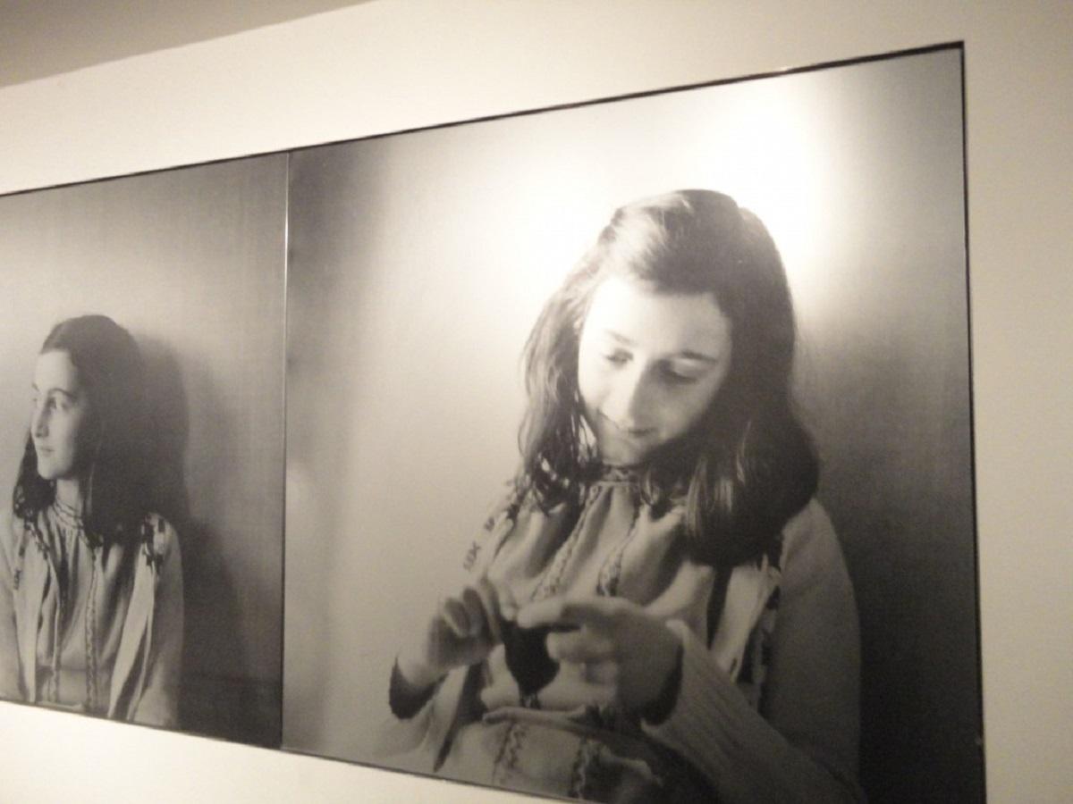 foto di Anna Frank