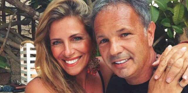 Arianna Rapaccioni e il marito