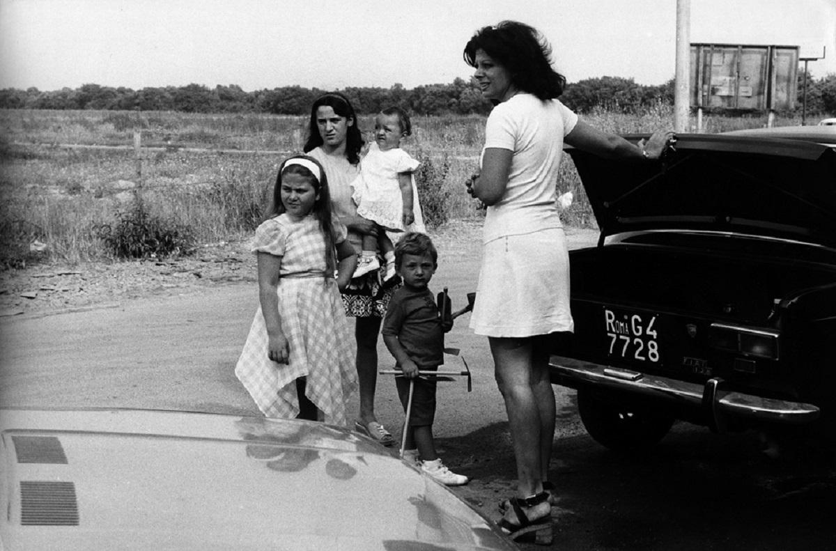 I figli di Sandra Milo con Sandra Milo