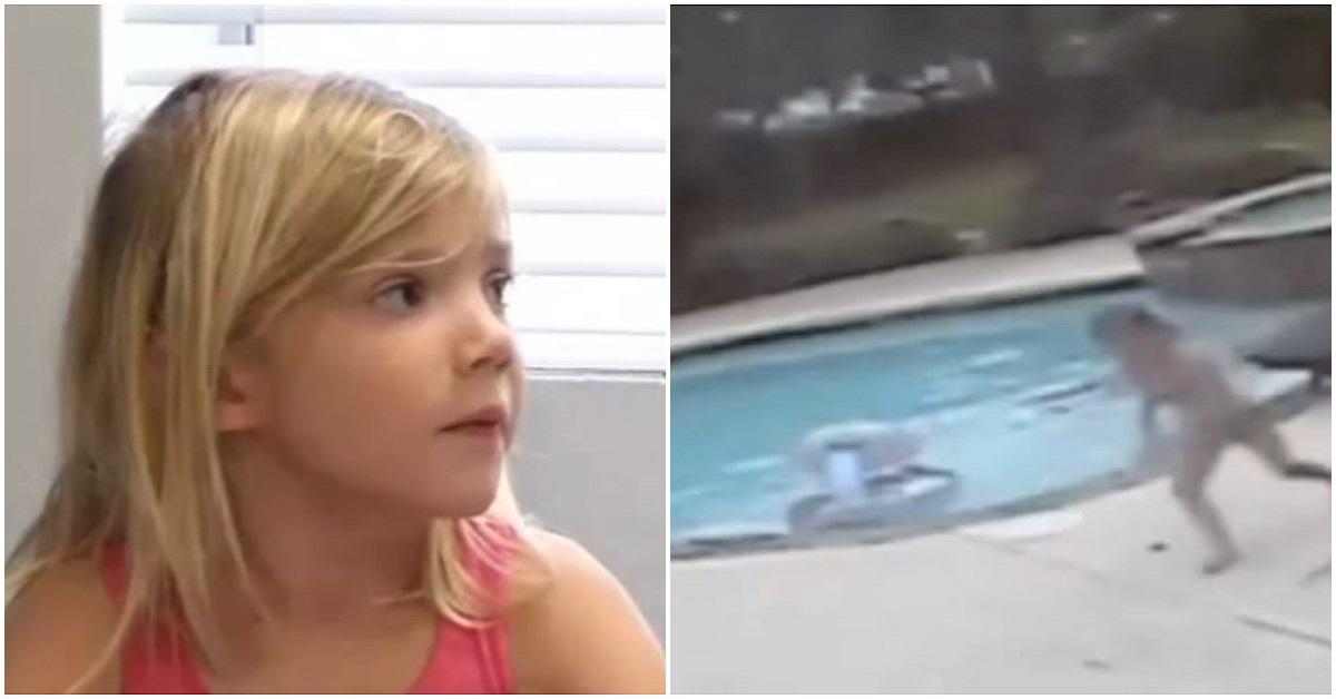 Allison, bambina di 5 anni