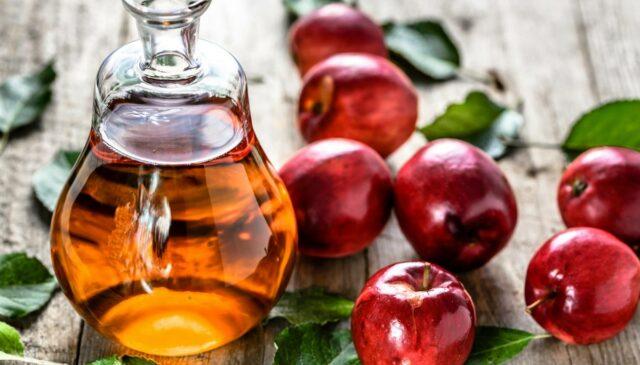 Foto dell'aceto di mele