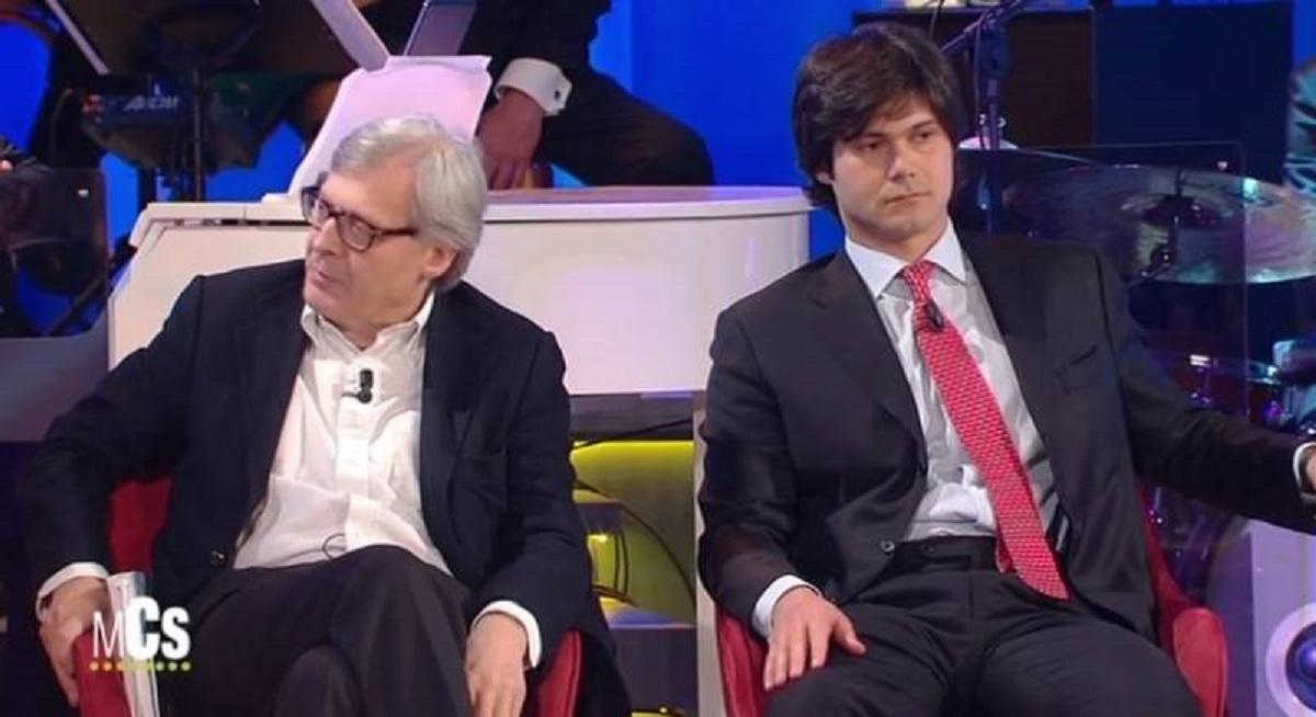 Carlo Brenner Sgarbi e Vittorio Sgarbi