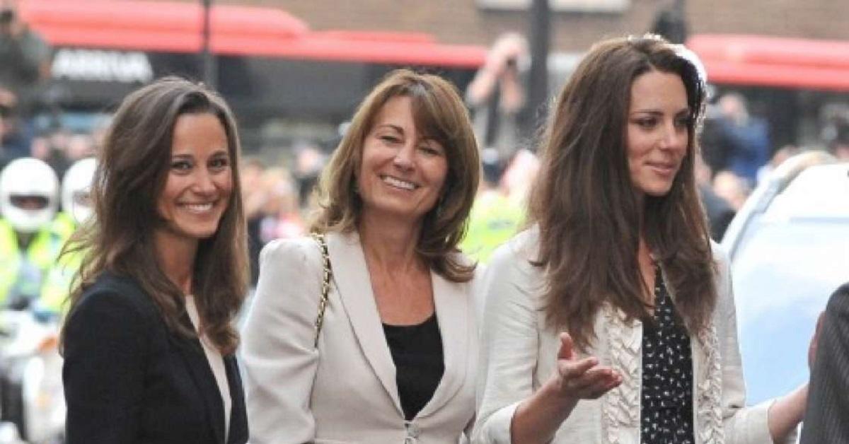 Carole Middleton e le figlie