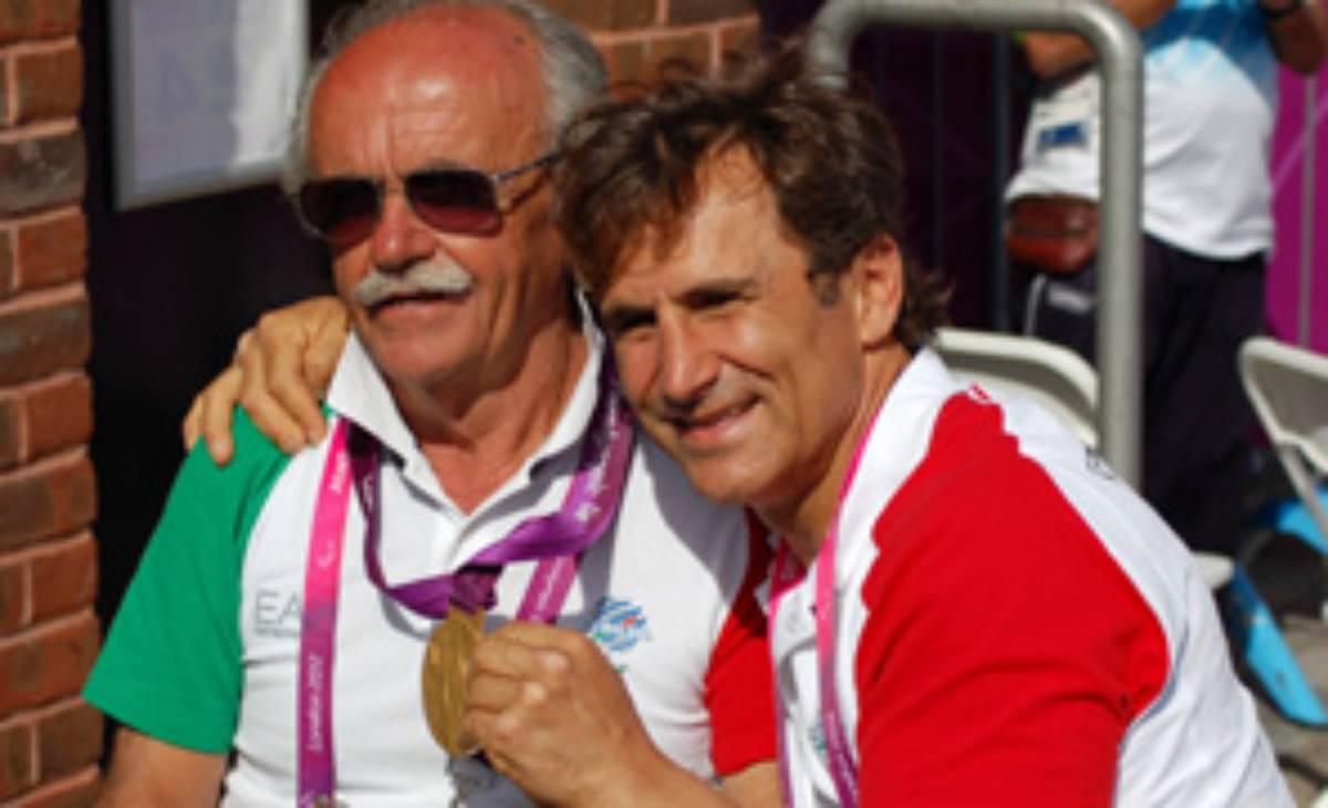 Mario Valentini e Alex Zanardi