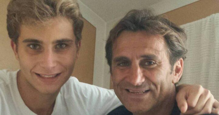 Alex Zanardi e Niccolò Zanardi