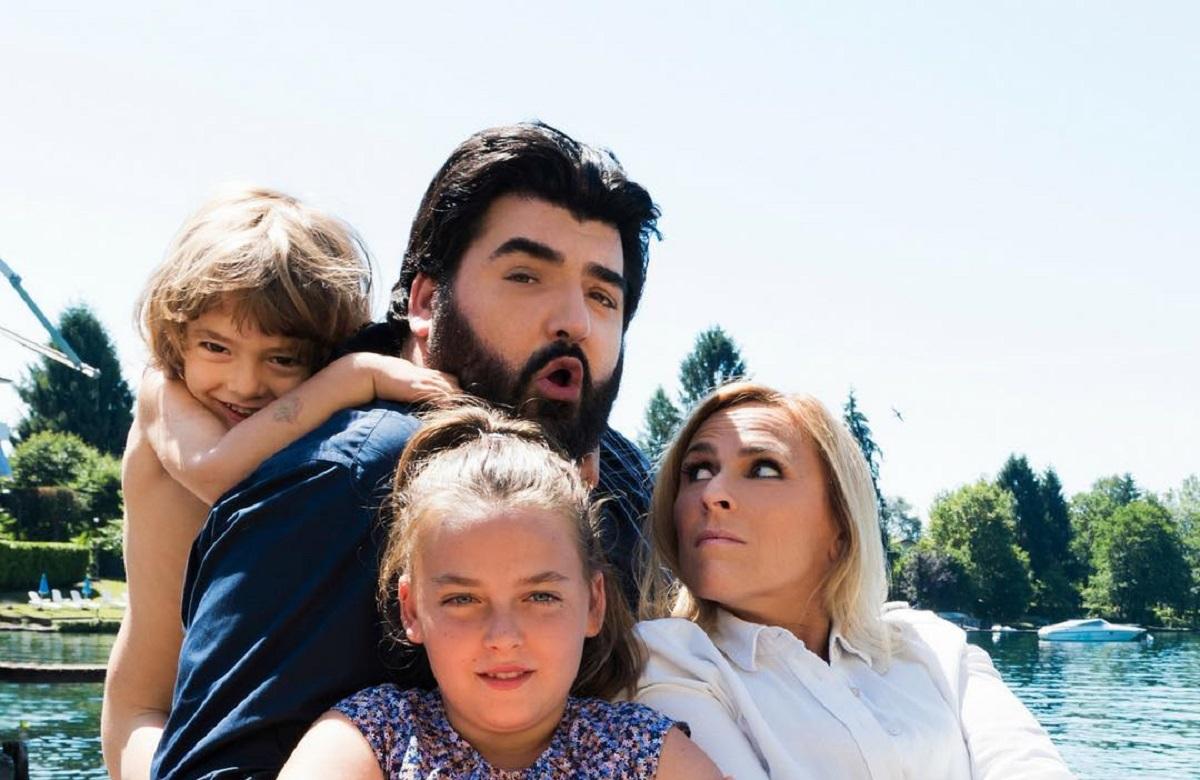 Cinzia Primatesta, il marito e i figli