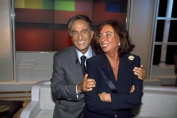 Diana De Feo e il marito