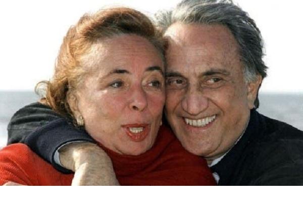 Emilio Fede e la moglie