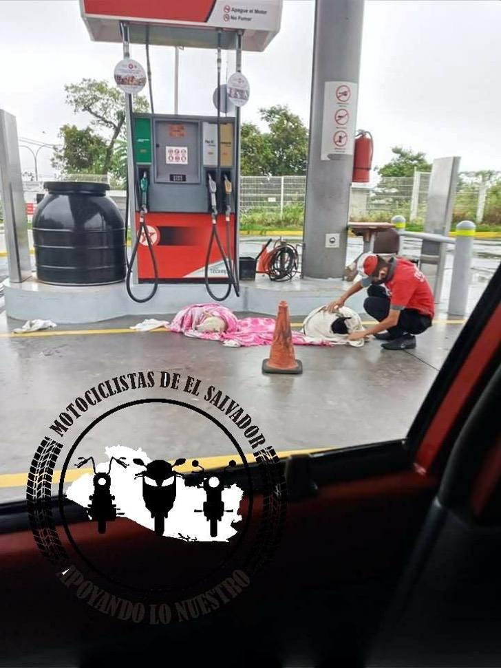 Stazione di servizi odi El Salvador