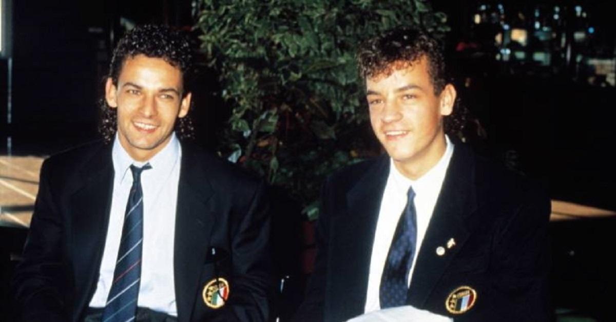 Roberto Baggio ed Eddy Baggio