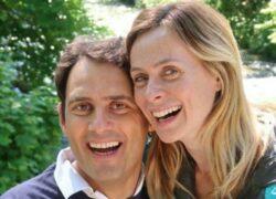 Enrico Griselli e la moglie