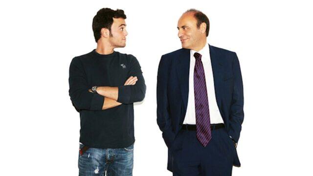 Federico Vespa e il padre