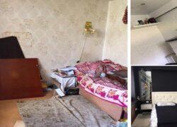 Casa dei genitori riparata