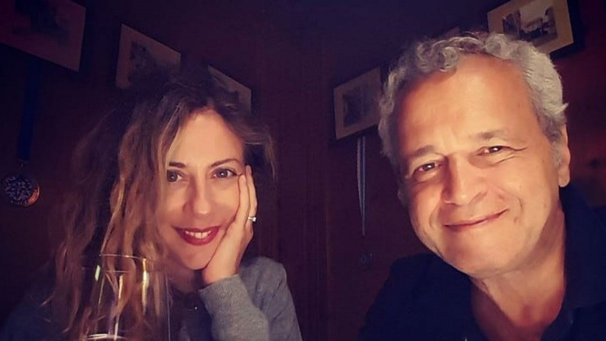 Francesca Fagnani e il fidanzato