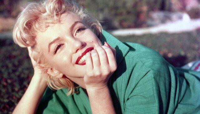 Marilyn Monroe che sorride