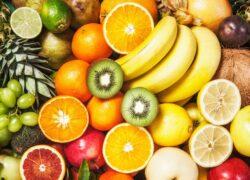 Tanti tipi di frutta
