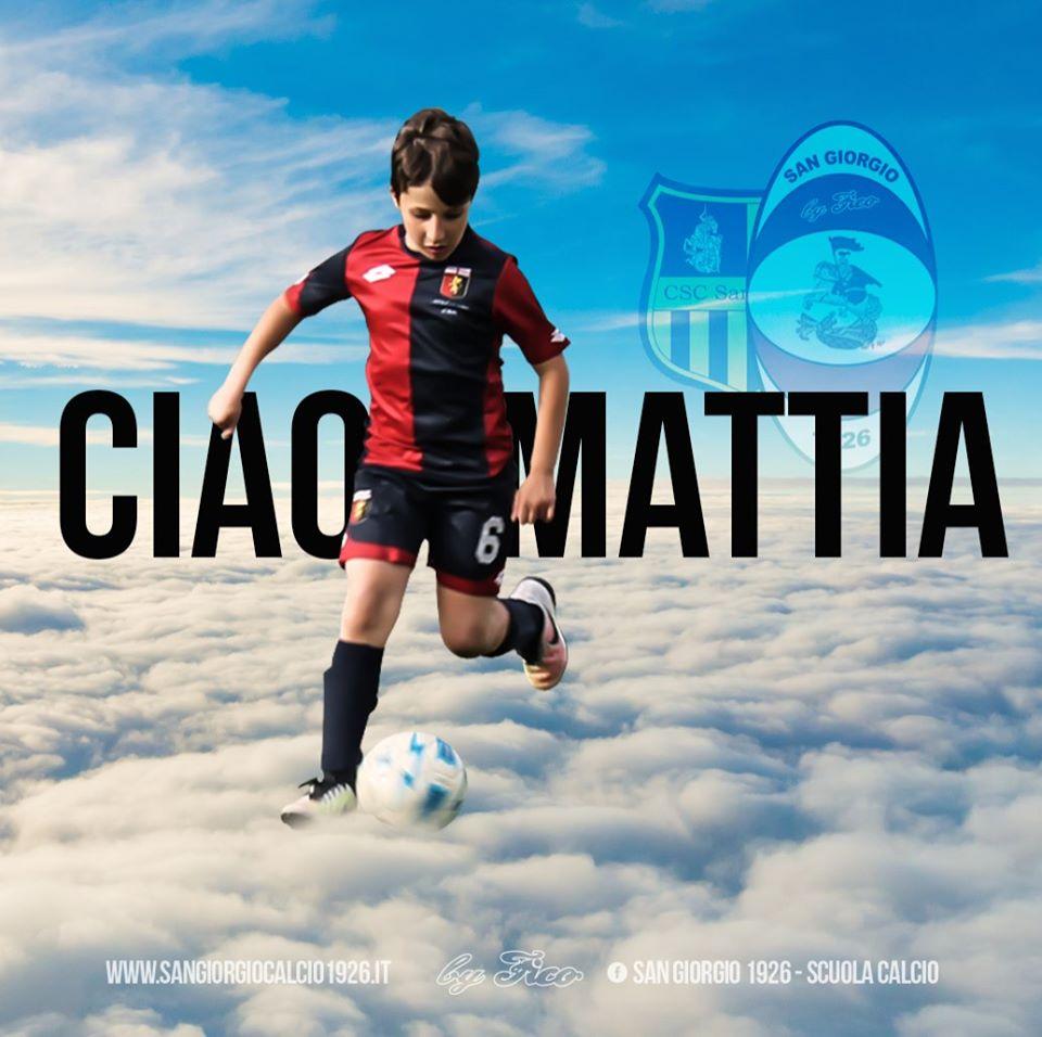 L'ultimo addio a Mattia