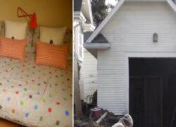 Casa per la suocera in garage