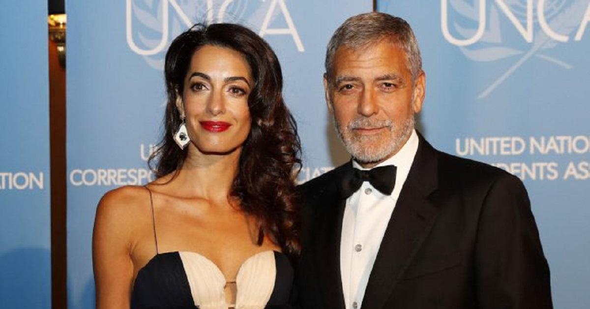 George Clooney e la moglie