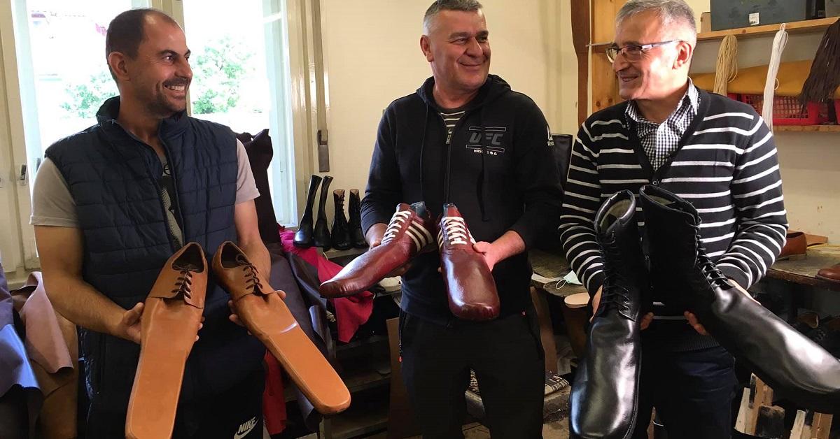 Grigore Lup e le sue scarpe