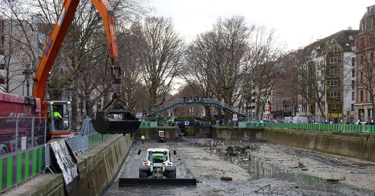 Il canale di Parigi è stato svuotato riportando alla luce innumerevoli misteri